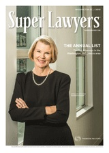 Washington, DC - Super Lawyers magazine cover