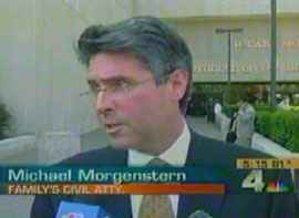 Michael Morgenstern Interviewed on Channel 4 News