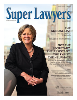 Super Lawyers magazine cover