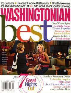 Washingtonian Magazine - 2007